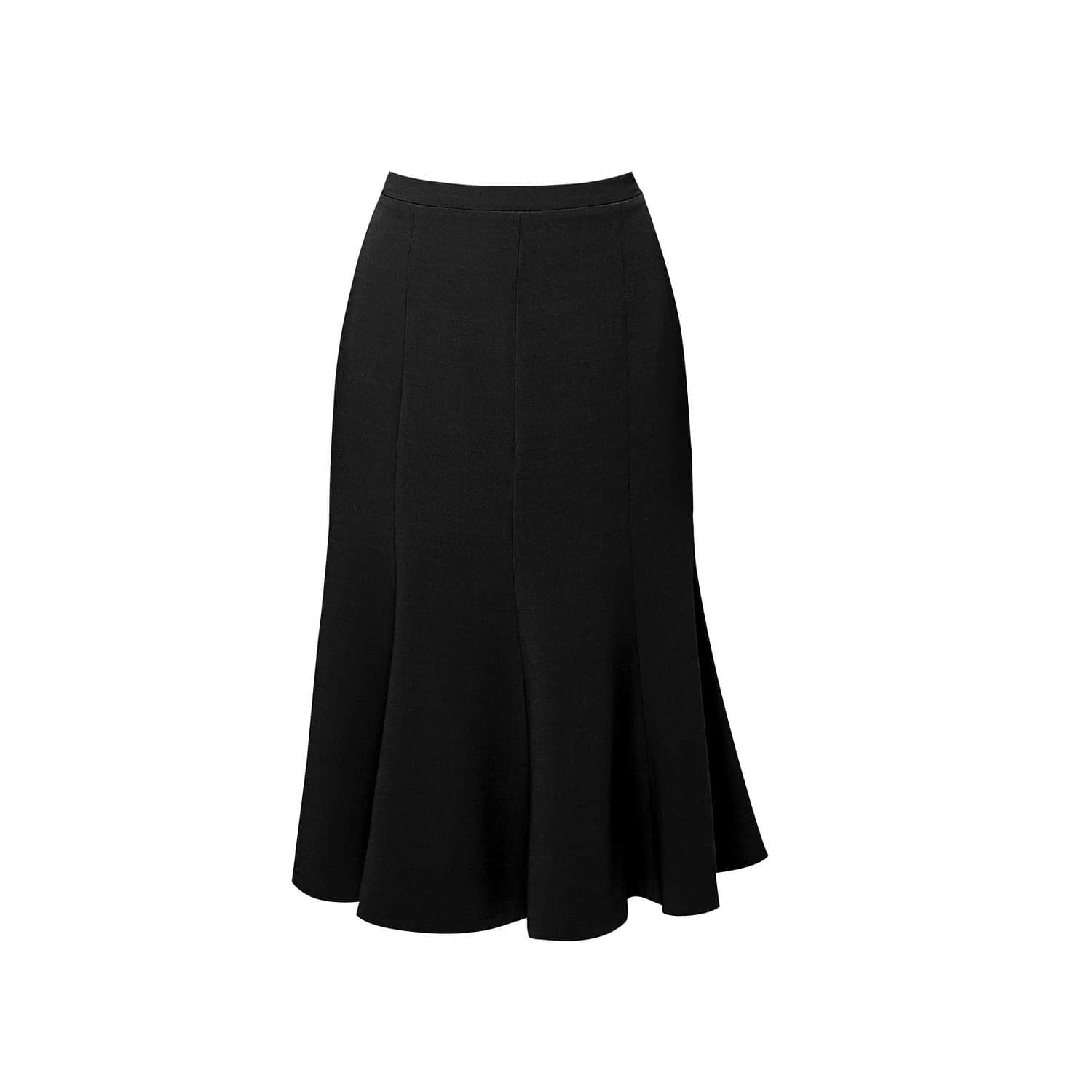 ce288dc67e Lucy Wool Midi Skirt In Black | Rumour London | Wolf & Badger