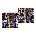 Coasters Nike Gold Maze image
