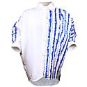 Oversize White & Blue Venice Shirt image