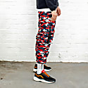 Ravage Pant Camo - Black/Grey/White/Red image