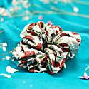 Silk Scrunchie - Strawberry Garden image