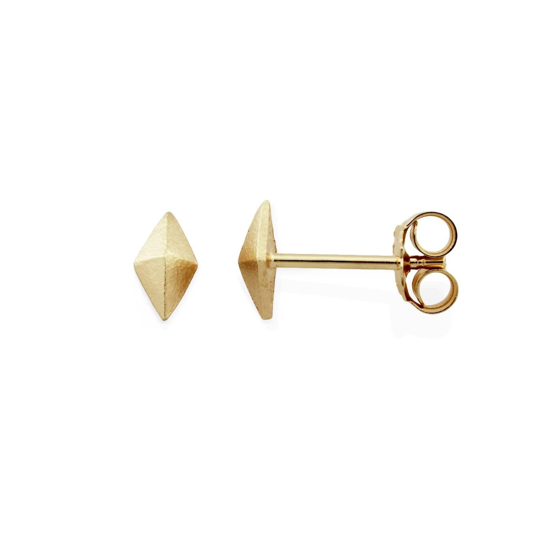 773d500c9 The Montezuma Stud Earrings 9ct Gold | Monarc Jewellery | Wolf & Badger