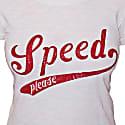 Ladies Speed Tee White image