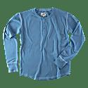 &Sons The New Elder Henley Shirt Smoky Blue image