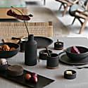 Wibi Ceramic Dinner Plate - Dark Ash image