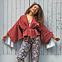 Sustainable Kimono Wrap Top image