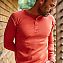 The New Elder Henley Shirt Vintage Red image