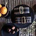 Sunda Jacquard Belt - Olive Jacquard image