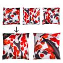 Koi I Large Velvet Floor Cushion Style 1 image