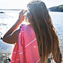 Coral Stripe Hammam Towel image