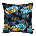 London Rooftop Afro-Geometric Luxe Cushion image