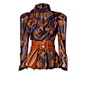 Connie Golden Brown Blouse image