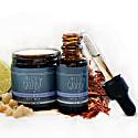 Frankincense & Bergamot Gift Set For Men - Face Cream & Serum image