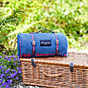 Pure New Wool Waterproof Picnic Blanket - The Notting Hill image