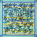 Lily Square Scarf image