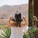 Plumitas Black Suede Hat image