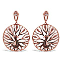 Sterling Silver Phoenix Earrings image