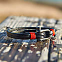 Teahupo'O Leather Bracelet In Red image
