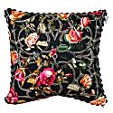 Rose Trellis Print Cushion Small image