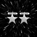 Star Cufflinks In Silver image