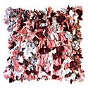 Pink Boucharouite Throw Pillow image