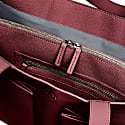 Fields Tote In Red Wine image