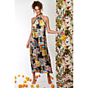 Lullah Maxi Dress With Mosaic Print In Red image