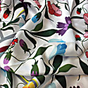 Silk Scarf With Backyard Flowers image