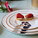 Kissing Couple Dinner Plate image