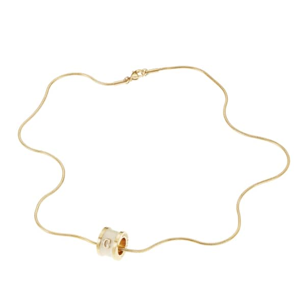 WHISTLE + BANGO Alphabet Necklace Cream
