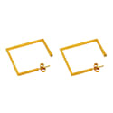 Square Ear Hoops image