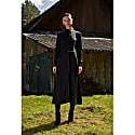 Prelin Black Midi Shirt Dress image