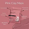 Beautypro Pink Clay Sheet Mask image