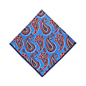 The Paisley Pocket Square - Sky Blue image