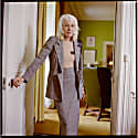 Dual High-Waisted Skirt In Glen Check Fine Wool From Savile Row image