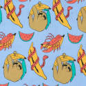 Banana Print Shorts image
