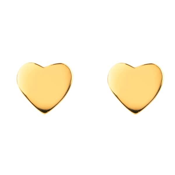 Cosmic Mini Heart Earring Gold