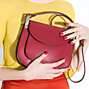 Anglet Burgundy Cross Body Bag image