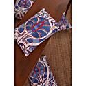 Babylon Cypress Suzani Ikat Double Sided Heritage Design Cushion image