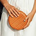 Matta Terra Handwoven Straw Clutch image