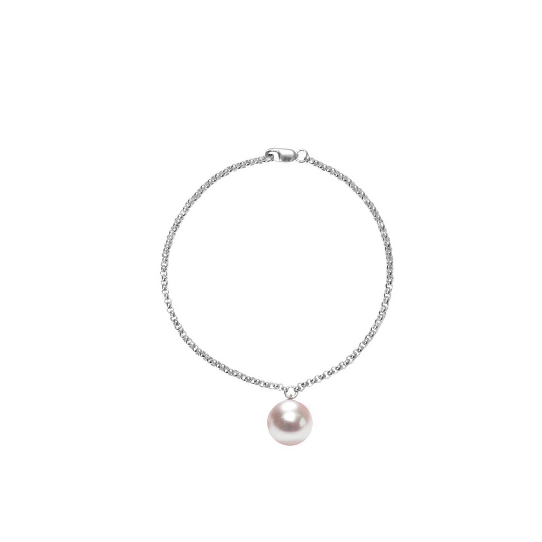 ORA Pearls Sterling Silver Alba Black Pearl Bracelet 7i8vNf1a