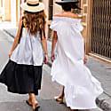 Lori White Cotton Dress image