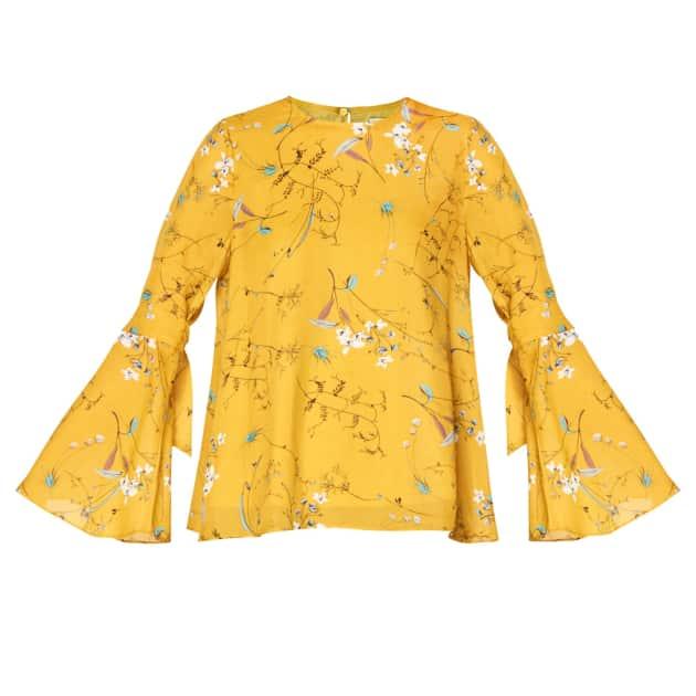 eb5f6874f6485 Women s Designer Yellow   Orange Blouses T-shirts   Tops