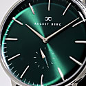 August Berg Serenity Greenhill Silver Classic Eye - Silver Mesh 40mm image