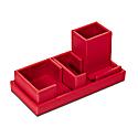 Cartesio Desk Set - Cherry Red image