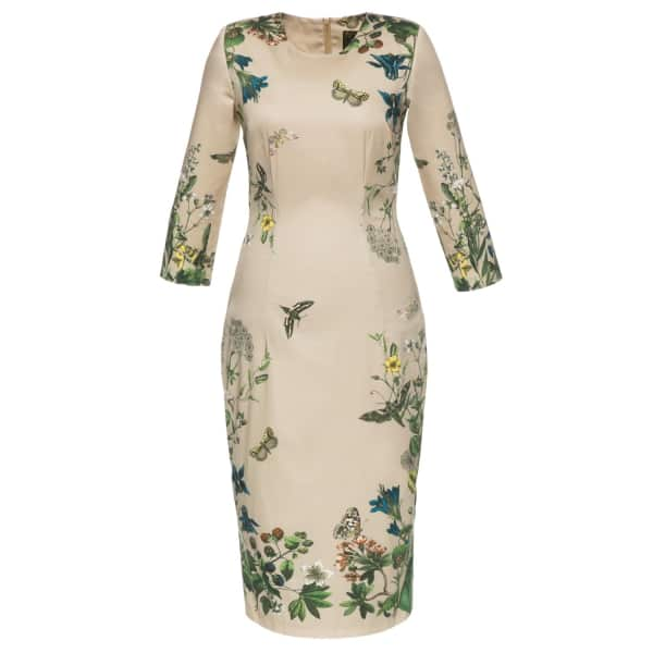 Lena Hoschek Garden Club Dress Dusk