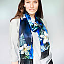 Flare Silk Printed Scarf image