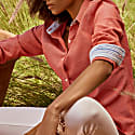 Ladies Coral Red Kabisa 'Noni' Shirt image