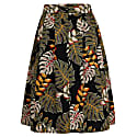 Hanna Skirt Tropical Leaves image