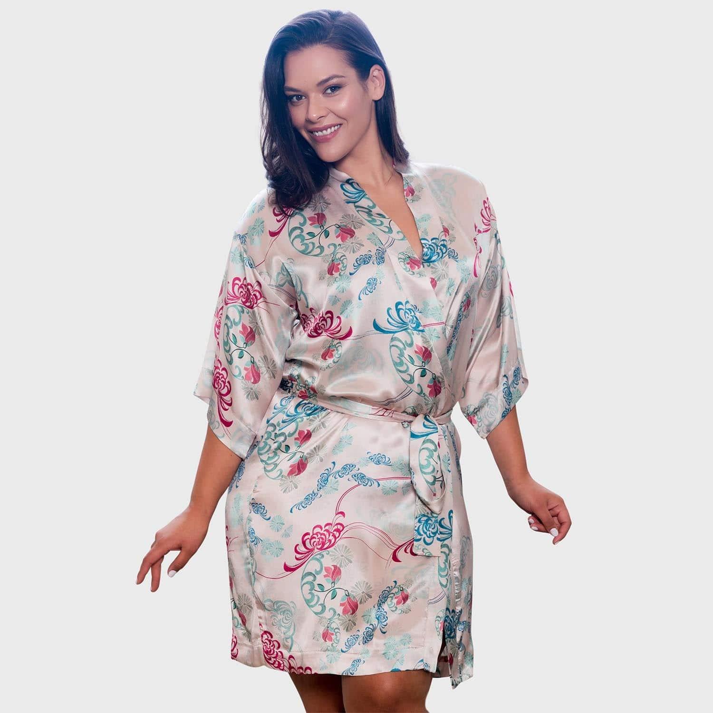 Amelie Silk Kimono Robe image 195facf55